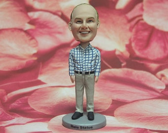 Customized Boyfriend Gifts, Husband Gifts, Groomsmen Gifts, Birthday Gifts for Dad, Mens Bobblehead dolls, Bobblehead dolls for Men