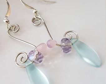 Wire work creation, Dangle Earrings
