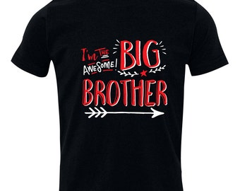 Big Brother Shirt, Big Brothers Hipster shirt - Brothers sibling shirt, BIG Brother T-Shirt, Sibling Shirts, HipSib
