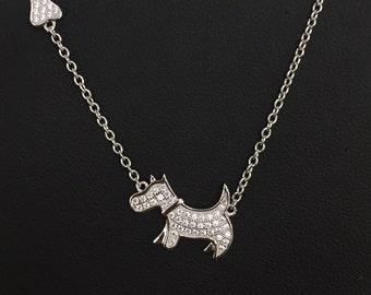 Dog and Bone necklace