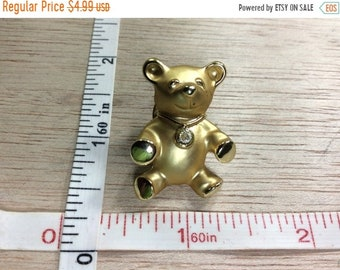 10%OFF3DAYSALE Vintage Guisti© Gold Toned Pin Brooch Teddy Bear Gently Used