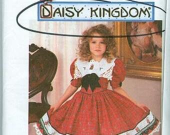 Simplicity Pattern 9789 Daisy Kingdom Girls Dress NEW Kids BB Sizes 5-8