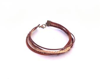 Natural men's bracelet