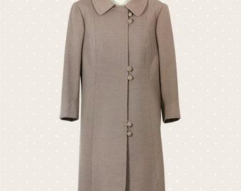 Vintage '50s overcoat