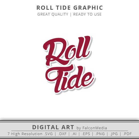 Roll Tide Alabama Crimson Tide Alabama Svg Roll Tide