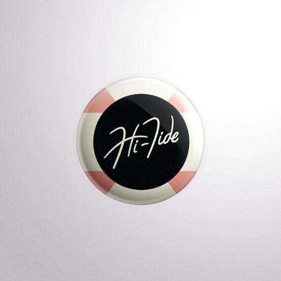 Hi-Tide Recordings Classic Logo Pin