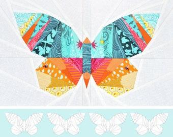 Take Wing Mini Paper Piecing Pattern