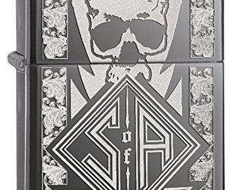 Sons Of Anarchy Black Ice Reaper Crew  Zippo Lighter