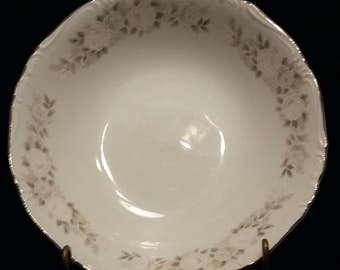 Vintage Sheffield Bowl. Sheffield Fine China Japan serving bowl. Classic 501 pattern.