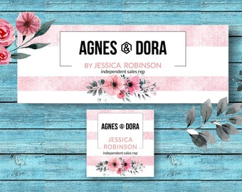 Agnes And Dora Facebook Set * Facebook Cover * Facebook Banner * Facebook Group * Facebook Profile * Facebook Photo Images * A&D FB -ADSP01