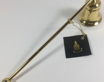 """ON SALE Candle Snuffer Solid Brass    7 1/2"""" New Excellent  Condition"""