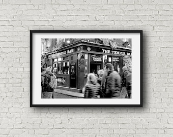 Temple Irish Bar, Dublin, Ireland Photography-Irish Pub- Cityscape -  AllyEphotography