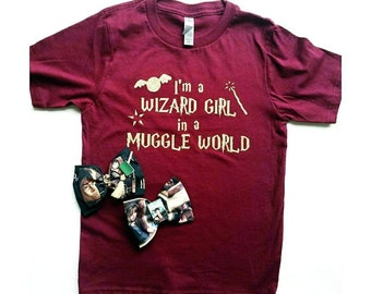 Wizard girl in a Wizard world, wizard, Harry potter, magic, potter, Gryffindor