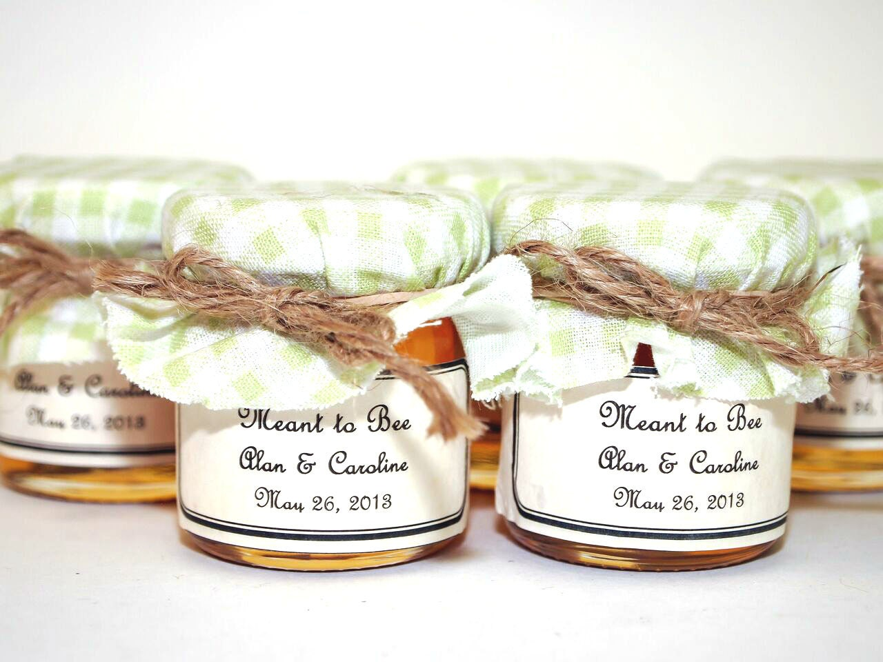 Nice Honey Jar Wedding Favors Pattern - The Wedding Ideas ...