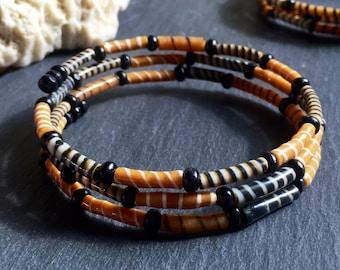 """Caramel"" Bangle Bracelet"
