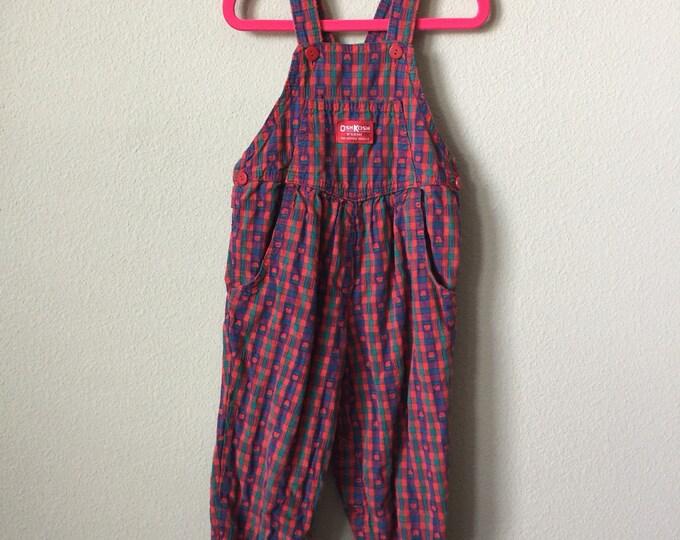vintage toddler overalls