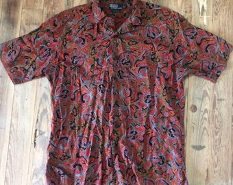 Polo by Ralph Lauren paisley print button up