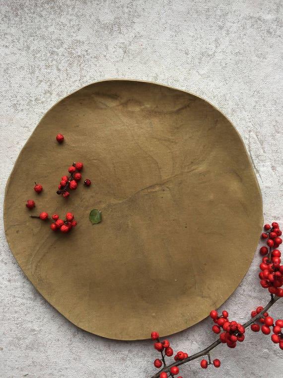 "Stone Wash Plate1 9.5"""