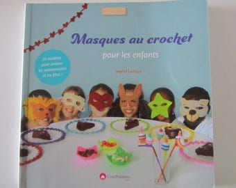 "Book ""masks crochet for children"" - 29 designs for birthdays and holidays"