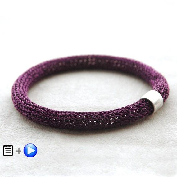 MINI Crochet tutorial Wire Crochet Pattern Wire Crochet