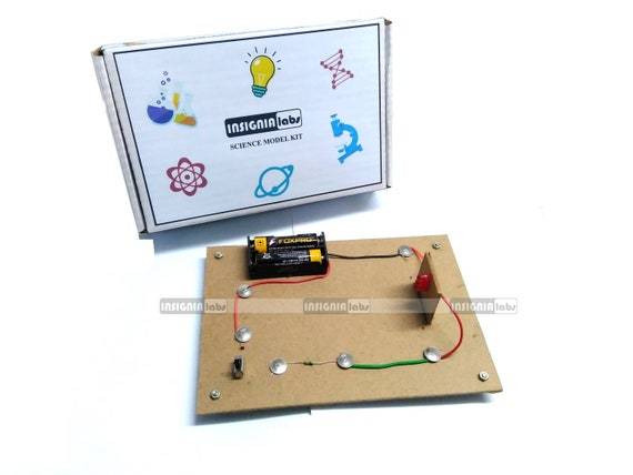 LED Series On/Off Control Science Working Model Educational