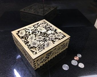 Tropical Treasure keepsake box