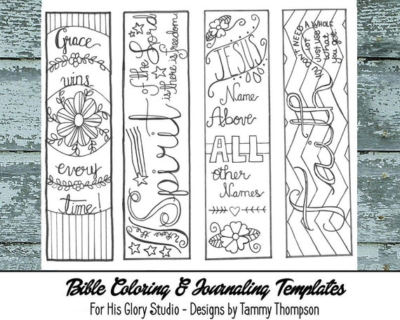 Free Printable Bible Bookmarks To Color