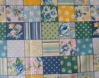 Patchwork in Blue from QH Textiles