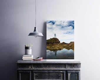 Photographic Print:  Lighthouse Reflection , Jersey