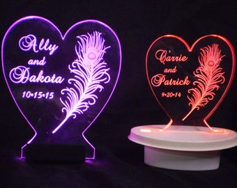 Centerpiece --Designs from ArtZengraving shop -- Glow -- Illuminated