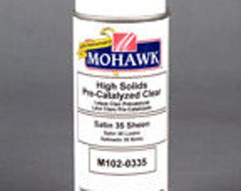 High Solids Pre-Catalyzed Clear Satin 35 Sheen