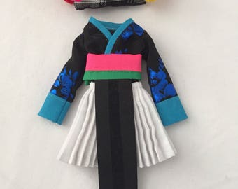 Clothes and shoes Only (does not include Hmong doll)