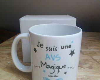 Avs year end gift mug