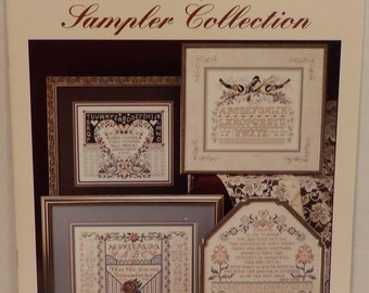 Sampler Birth Wedding Friends Counted Cross Stitch 9 Patterns by Stoney Creek Collection