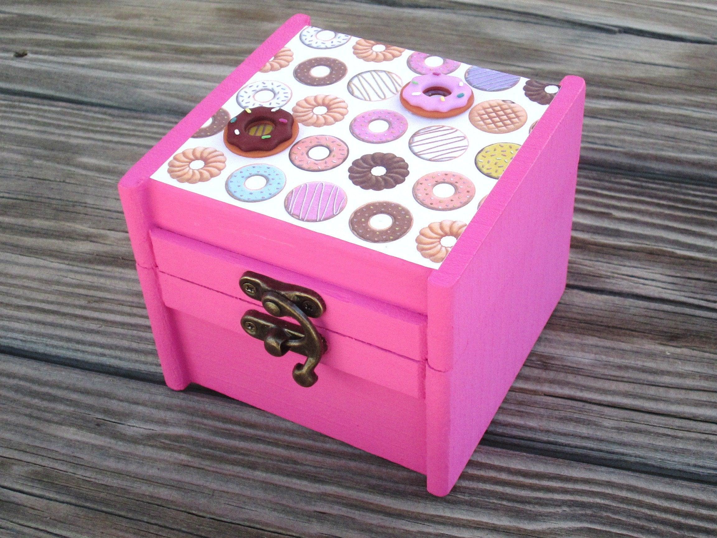 Doughnut Donut trinket / jewelry box