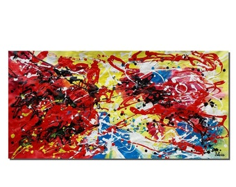 Contemporary Painting, Canvas Wall Art, Abstract Art, Large Art, Abstract Painting, Wall Art, Oil Painting, Large Art, Acrylic Painting