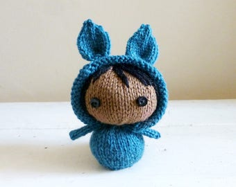 Olympia the Mini Bunny Baby, Cute Stuffed Animals, Baby Doll