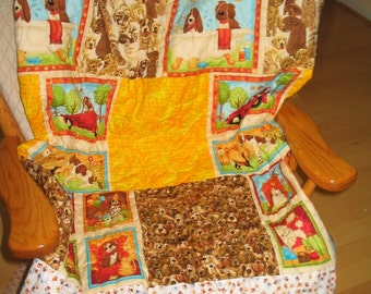 Dogs and Bones Quilt