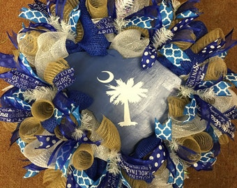 South Carolina state wreath