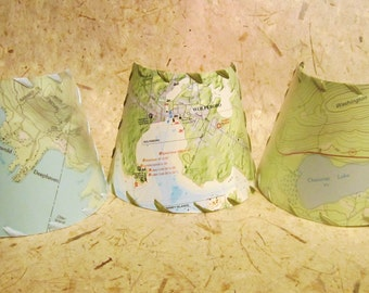 Map Night Light, Winnipesaukee Custom MapShade Nightlight, Squam Lake Chart Night Light, Personalized Custom Map Night Light