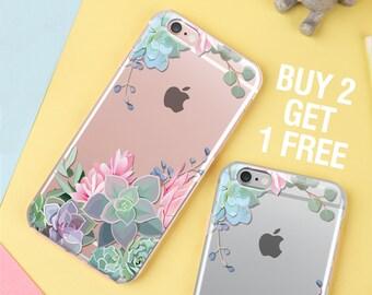 iPhone 8 plus case CACTUS iPhone 8 case succulent silicone case iphone 6 case,iphone 6 plus,6s case iphone 7 plus case iphone 7 case  44