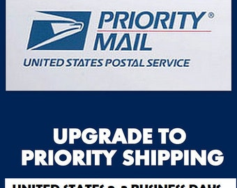 Priority Mail Shipping - U.S. orders only