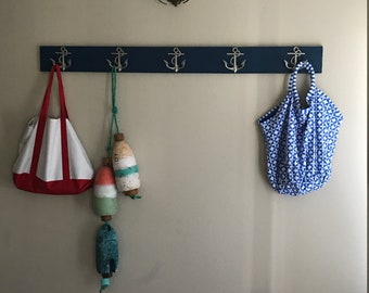 anchor towel rack as seen on Houzz Beach House Dreams™ outdoor shower beach towels pool hot tub hooks renovation design Outer Banks OBX