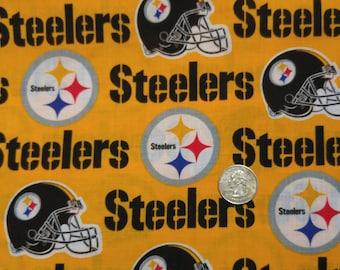 Fabric BTY  Steelers Football Fabric