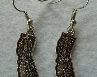 Pierced Earrings California