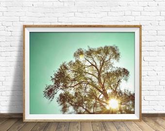 "photography, sky, summer, instant download art, printable art, photography, instant download, farmhouse chic, nature - ""Fleeting Memories"""