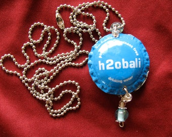 Recycled bottle cap necklace BALI
