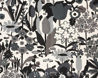 Half Yard Keely in Black and Tea, Home Decorator Weight Fabric, Alexander Henry, 100% Cotton Fabric