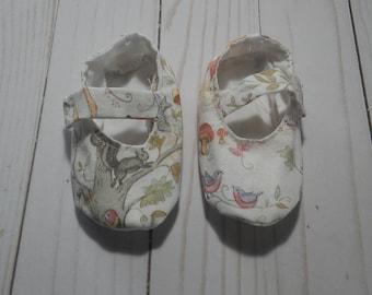 Woodland Mary Jane Baby Shoes