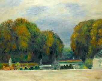 Pierre Auguste Renoir: Versailles. Fine Art Print/Poster. (004266)